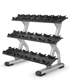 3 Tier 10 Pair Dumbbell Rack